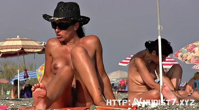 Nudism, Teen nudist, Beach, Nudist
