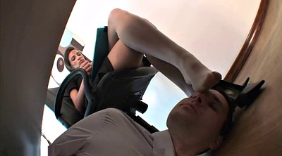 Nylon feet, Black foot, Foot worship, Foot femdom, Office foot