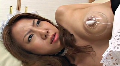 Maid, Asian man, Japanese maid, Asian orgasm, Japanese man