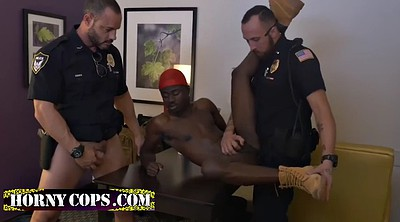Police, Police gay, Office anal