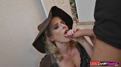Cory chase, Night, Clothed blowjob