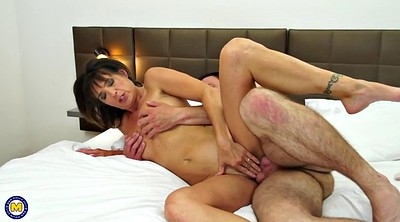 Cheating wife, Young boy, Mature old