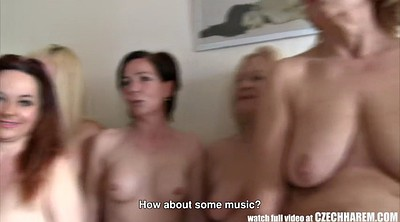 Czech, Orgies, Harem, Czech mature, Czech group