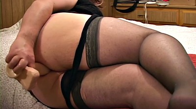 Nylon, Stockings, Chubby anal, Bbw nylon, Stockings anal, Stockings solo