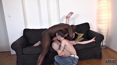 Pussy liking, Interracial anal