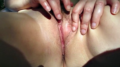 Wife orgasm, Outdoor wife