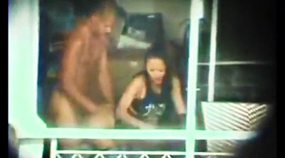 Hidden cam, Interracial asian, Window