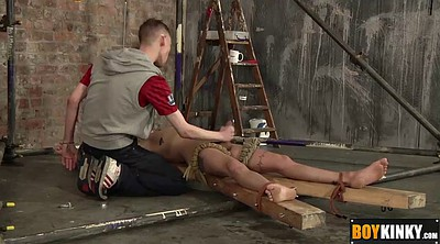 Squirting, Tied, Gay couple