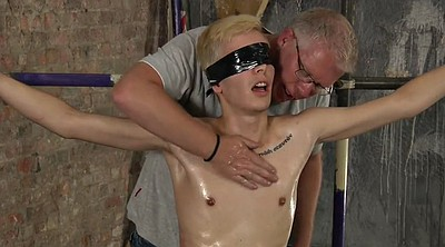 Tied, Old gay, Whipping
