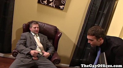 Office, Office gay, Gay office, Big cock anal