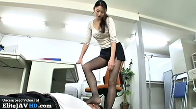 Japanese mature, Japanese pantyhose, Mature feet, Nylon feet, Japanese massage, Secretary