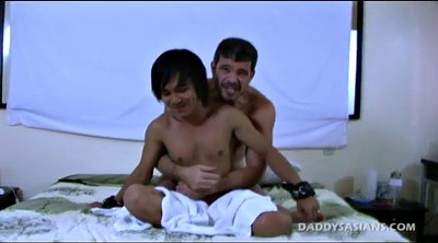 Handsome, Dad, Asian interracial