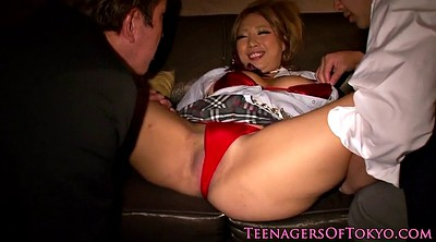 Japanese teen creampie
