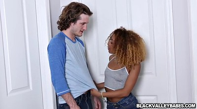 Ebony teen, Teen interracial, Kendall woods