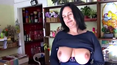 Shop, Mature bbw, Czech mature, Shopping, Sex shop, Czech money