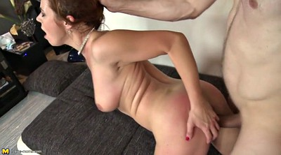 Sucking cock, Milf mom, Mature mom, Fucking mom