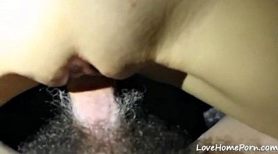 Belly, Missionary position, Homemade cum, Cum on belly