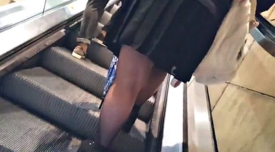 Nylon, Upskirt, Nylons, Mature fetish
