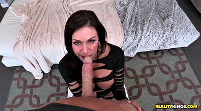 Kendra lust, Kendra, On her knees, Knees, On her knees blowjob