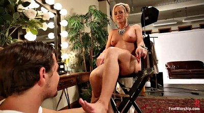 Worship, Feet worship, Milf foot