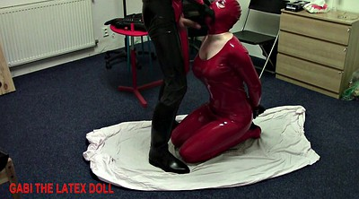 Spank, Rubber, Latex bdsm, Doll