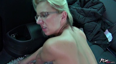 Saggy, Saggy tits, Fuck in car