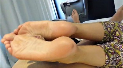 Footjob, Sandra, Room, Office foot, Hotel room