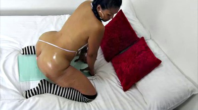 Big ass latina, Dildo, Latina milf, Colombian