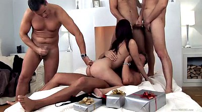 Asian gangbang, Tramp, Spreading