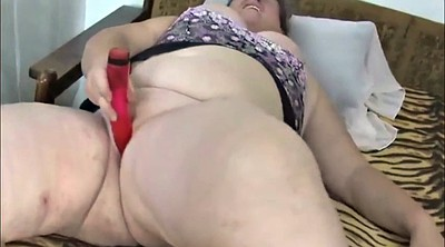 Masturbation, Old bbw, Plump, Granny masturbation