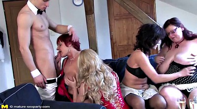 Mom sex, Mom and boy, Mature boy, Young group, Young and old, Sex mom