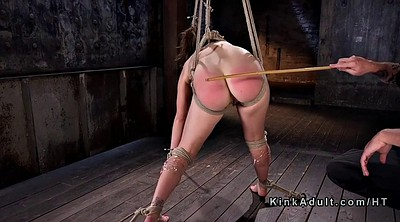 Slave, Caning, Hogtied