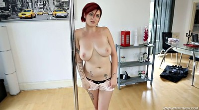British pov, Strippers, Short hair, Big butt solo