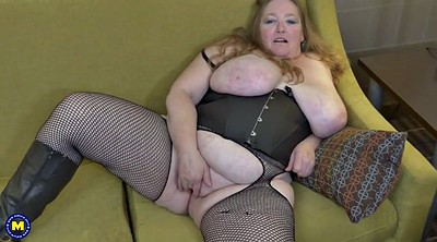 Big tits, Bbw mom