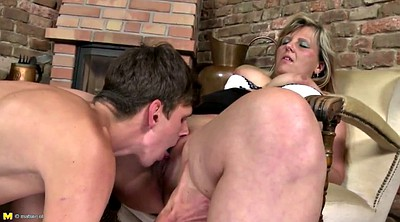Mom and son, Taboo, Old and young, Taboo mom, Son taboo, Her son
