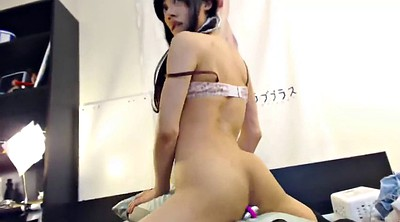 Crossdresser, Asian spank, Humping, Spank asian, Pillow humping, Crossdressing