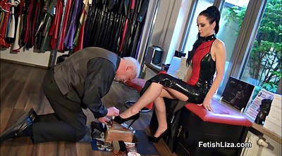 High heels, High-heeled, Polish, High heeled, Heels femdom