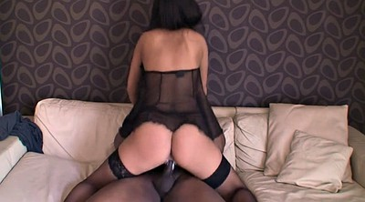 Riding, Ebony creampie