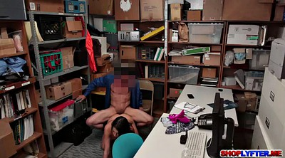 Hot office, Lily, Shoplifting, Office sex, Shoplifter