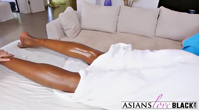 Asian massage, Black on black