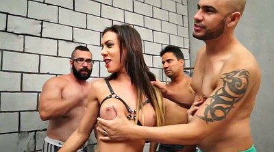 Creampie, Group sex, Brazilian shemale