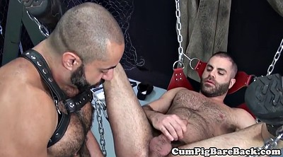 Leather, Masturbates, Bear