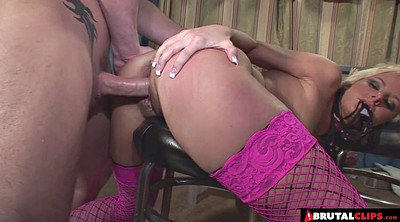 Abused, Blond, Anal creampie, Abuse, Anal abuse