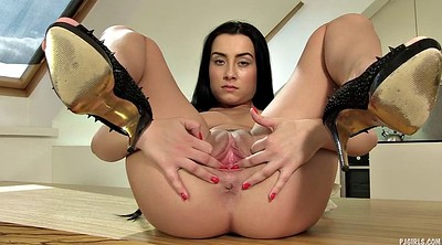 Open pussy, High heels, Pussy gaping, Gaping pussy