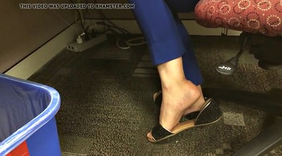 Feet, Shoeplay, Candid, Candid feet, Sandals, Sandal