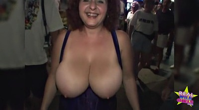 Public flashing, Outdoor naked