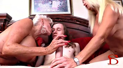Granny creampie, Anal creampie, Son in, Mother in