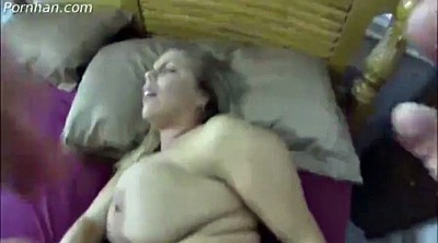 Sleep, Sleeping, Big ass mom, Sleeping mom, Sleep mom, Mature creampie