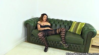 Nylon, Mature pantyhose, Horny mature, British mature, Pantyhose mature