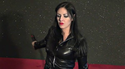 Latex, Mistress, Whipping, Femdom whipping